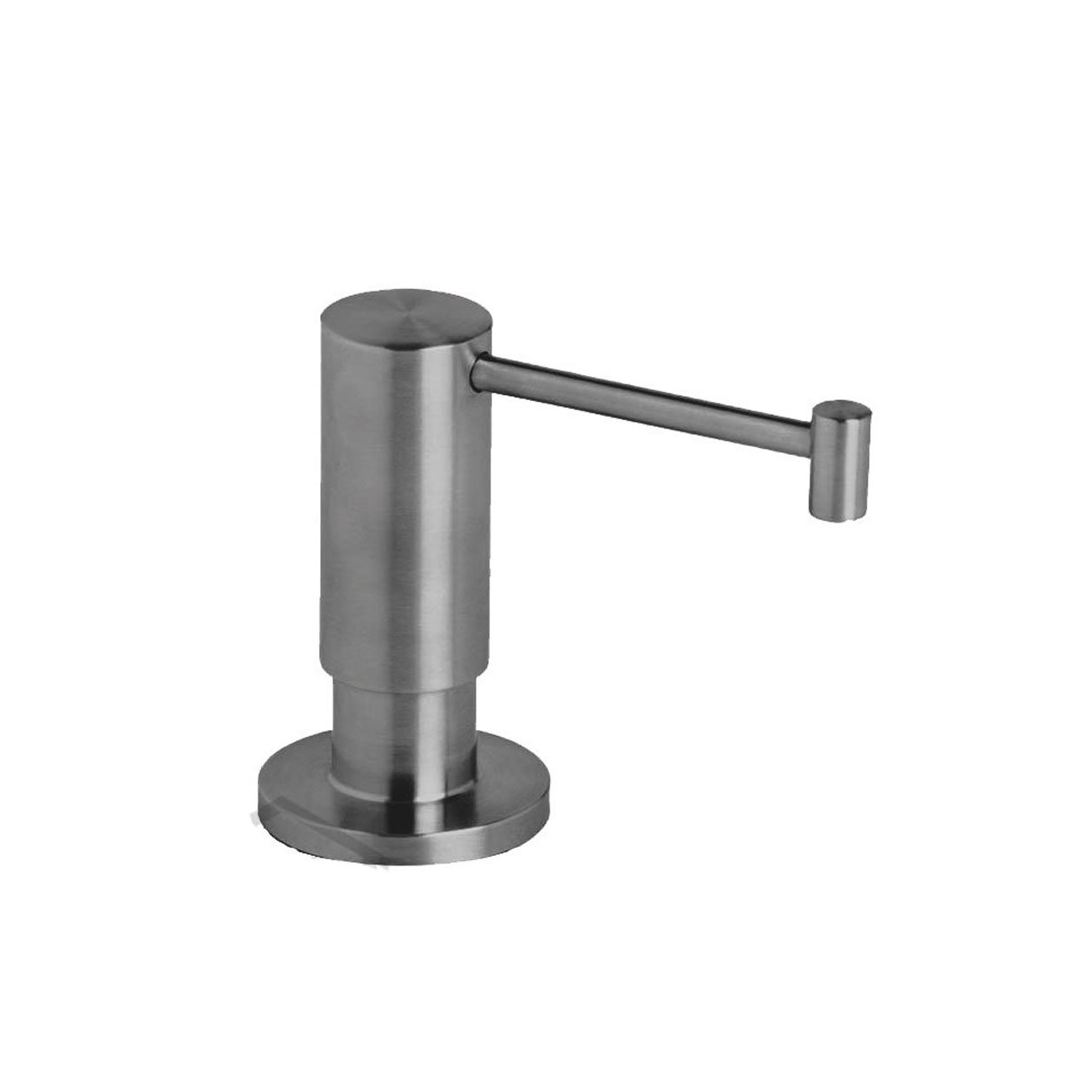 Waterstone 4065-SS Contemporary Soap Dispenser Deck Mount, Solid Stainless Steel by Waterstone B00FOP624O