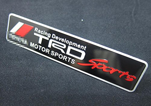 Harvard kid DIY Car Parts Aluminium Decal Emblem Badge Sticker for Toyota All Models TRD
