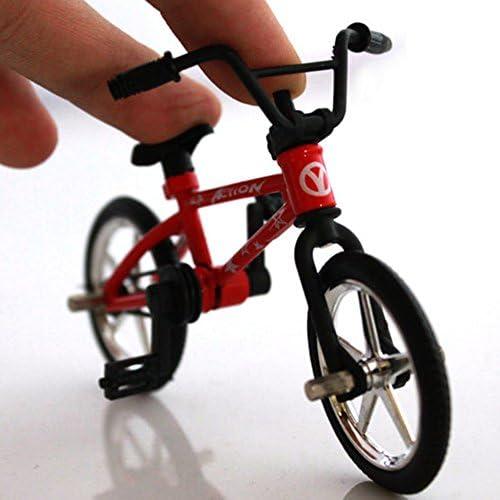[해외]INLAR Finger Bike Toy Mini BMX Alloy Simulation Mountain Small Bicycle Model Model Functional Great Collections Ornament Novelty Gift for Kids Children (Random Color) / INLAR Finger Bike Toy Mini BMX Alloy Simulation Mountain Small...