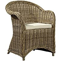 Sloane Elliot SE0161 Tahoma Woven Arm Chair, Natural Finish