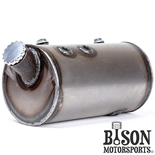 Custom 5'' Round Flat Side Oil Tank for Harley Sportsters, Bobbers or Choppers - Bison Motorsports by Bison Motorsports (Image #3)