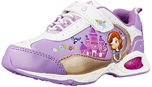 Disney Sofia The First  Sneaker, White/Purple, 11 M US Little Kid -