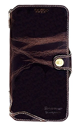Genuine Cowhide Leather Case (Yogurt for Samsung Galaxy S9 Plus + (6.2 Inch) Genuine Leather Wallet Cases Cover Handmade Oil Leather)
