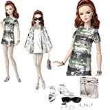 (US) 84011 Silver Shine Mallory Martin Dressed Doll The Fashion Teen Collection