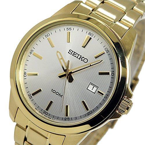 Seiko-SEIKO-Quartz-Mens-Watches-SUR158P1-Silver-Gold-parallel-import-goods
