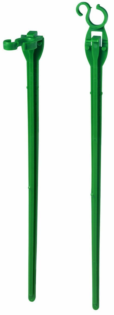 Adams Christmas 9104-99-1640 8-Inch Light Stakes (4 Packs of 25 Stakes) 100 Stakes Total
