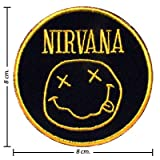 Nirvana Music Band Logo I Embroidered Iron Patches