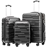 Best Luggage Set Spinners - Coolife Luggage Expandable Suitcase 3 Piece Set Review