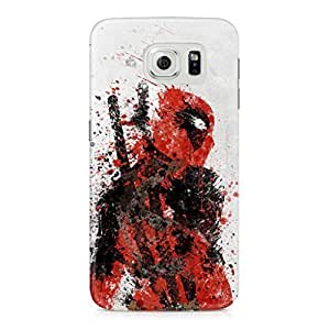 deadpool wade Full Wrap Rough Case Skin, Fashion Design Image Custom , Durable Hard 3d Case Cover for Samsung Galaxy S6 Regular, Case New Design By Art-print