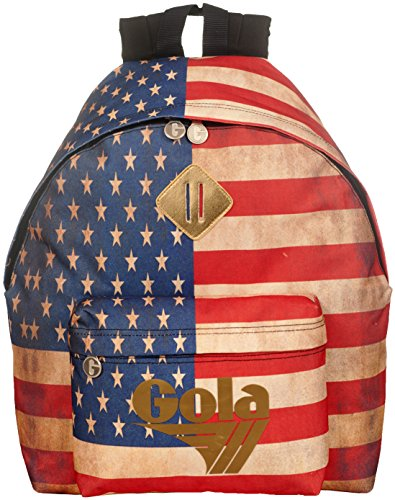 Descuentos En Línea Zaino Gola Harlow Full Vintage USA Navy/Gold/Multi - ZCUB013EY 42x33x13.5 Comprar Barato Oficial Sast Línea Barata Accesible En Línea MILIEs