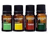 Elevation Terpenes Energy Pack Four Pack (D-Limonene, Humulene, Alpha-Pinene, Orange-Oil Valencene)
