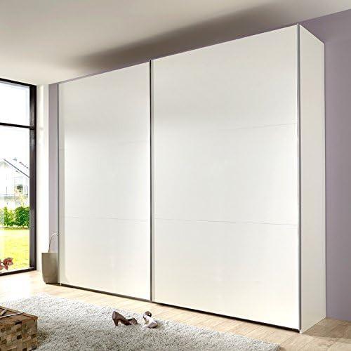 Saller mocha166 270 cm Armario de puertas correderas H=210 cm, color blanco: Amazon.es: Hogar