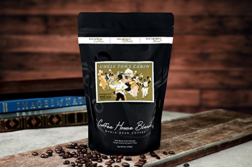 Uncle Tom's Cabin - African American Dance Party Poster (8oz Whole Bean Small Batch Artisan Coffee - Bold & Strong Medium Dark Roast w/Artwork) by Lantern Press (Image #1)