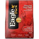 Eagle Pack Natural Dry Large Breed Dog Food, Chicken & Pork, 15-Pound Bag