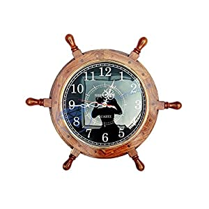 51-cSHro%2B7L._SS300_ Best Ship Wheel Clocks