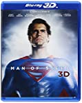 Cover Image for 'Man of Steel (Blu-ray 3D + Blu-ray + DVD +UltraViolet Combo Pack)'