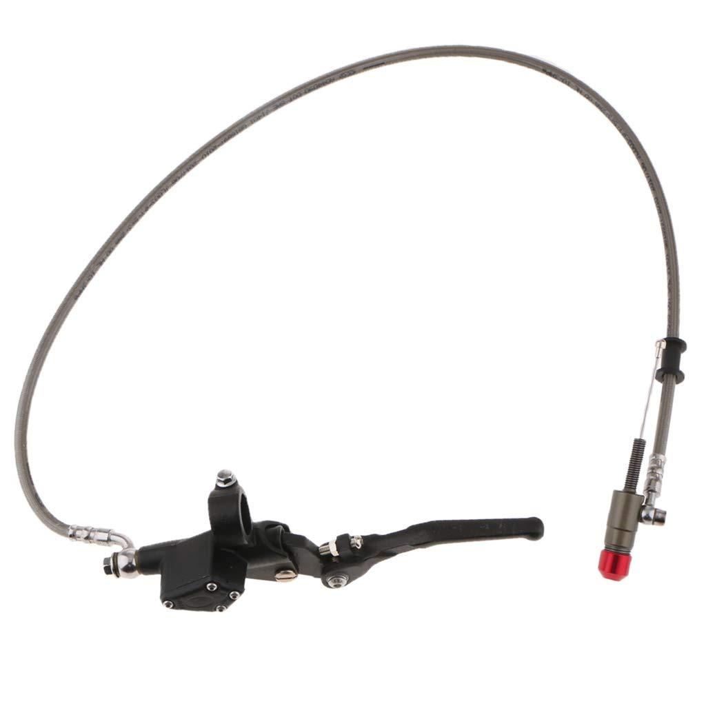 perfk Palanca de Embrague para ATV DirtBike 22mm Facíl Instalar Multifuncional Duro - Negro: Amazon.es: Coche y moto