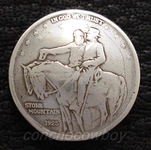 Conchos for Clothes Western TACK Stone Mountain Jackson LEE Reproduction Coin Concho Screw Back ()