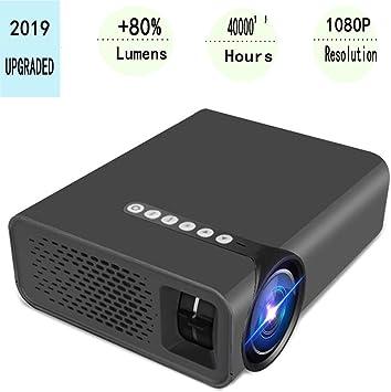 EYQUEN Proyector Full HD 1080P y pantalla de 200 pulgadas ...