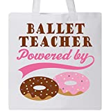 Inktastic - Ballet Teacher Humor Tote Bag White e554