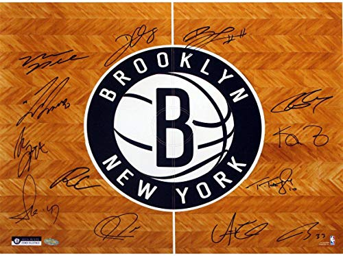 (Brooklyn Nets Team Signed