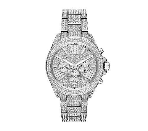 Michael Kors Silvertone Wren Stainless Steel Chronograph Watch