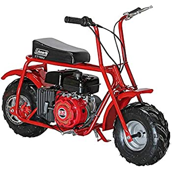 Amazon.com: Coleman Powersports 196cc/6.5HP CT200U-AB Gas ...
