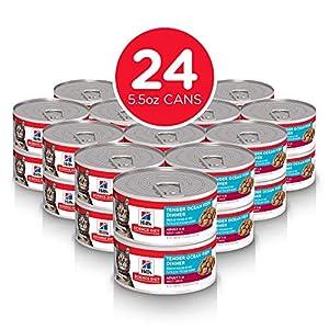 Hill's Science Diet Wet Cat Food, Adult, Tender Ocean Fish Recipe, 5oz Cans, 24 Pack