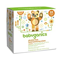 BabyGanics Hand Sanitizing Wipes 20 ct.