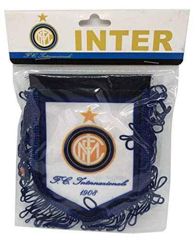 - Football/Soccer/Futbal Club Internazionale Milano Inter Milan (1908) Pennant for Decoration/Souvenir /Gift || Holds on Glass of Cars and Windows - 1 Qty