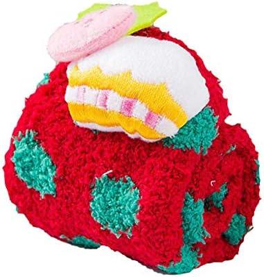 Calcetines de lana de coral para niña Calcetines de Navidad Calcetines lindos de dibujos animados para el hogar Calcetines de piso para niños Calcetines ...