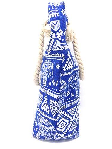 Femme Blanc L Wear Bleu Multicolore à Evil Sac pour Main xA1TTqf