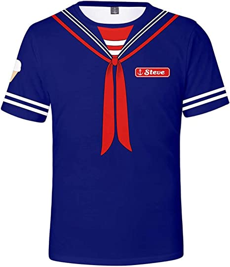 Amatop Disfraz de Stranger Things Camiseta de Dustin Eleven ...