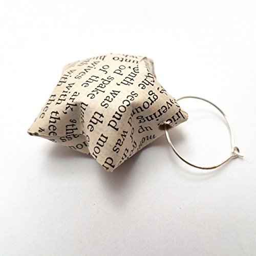 [Antique Bible Paper Star Christian Wine Glass Charm Gift Topper Ornaments (Set of 5)] (Elephant Bunting Costumes)