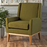 Product review for Archibald Mid Century Modern Fabric Accent Chair (Green)