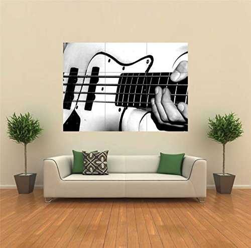 Bass Guitar Playing Music New Giant Poster Wall Art Unique Print Picture  G107