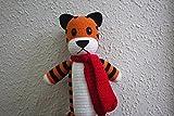 Hobbes, Calvin and Hobbes, Crochet Hobbes,Hobbes Tiger, Plush Tiger, Handmade Hobbes, Stuffed Hobbes