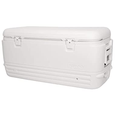 Igloo Polar Cooler (120-Quart, White) (Pack of 1)