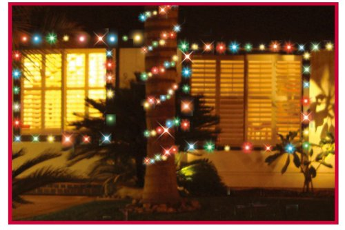 Creations Christmas Outdoor Patio Lights 50count Led C3