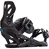 NOW Brigade Snowboard Binding (Black, S) - Men's