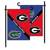NCAA Georgia-Florida 2-Sided Garden Flag-Rivalry