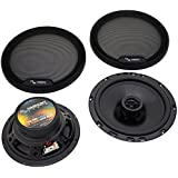 Harmony Audio HA-65 Car Stereo Rhythm Series 6.5 Replacement 300W Speakers & Grills