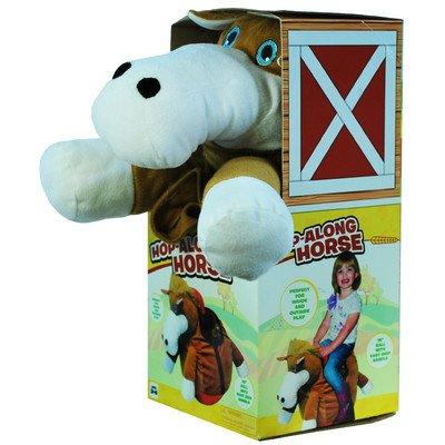 Gener8 GS23017M Hop-Along Horse, Brown ()
