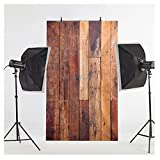 3x5ft New Fashion Romantic Snowing Dreamlike Vinyl Thin Backdrop,Photography Background,Wooden Board Wall Theme,Flags,Children Party Scene offers