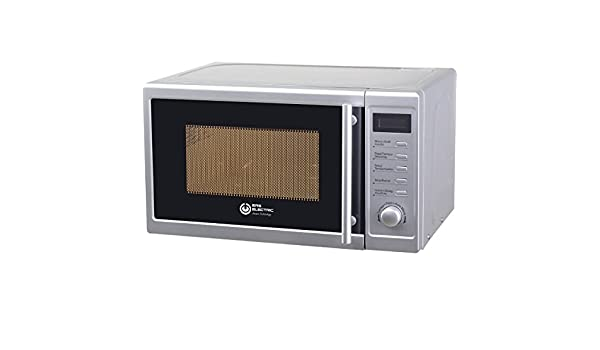 Microondas Silver Eas Electric EMSG20L 20L 700W 5 niveles: Amazon ...