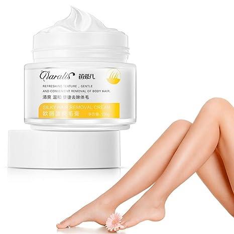 Crema depilatoria, 100 ml/botella crema depilatoria sin dolor, rápida y efectiva,