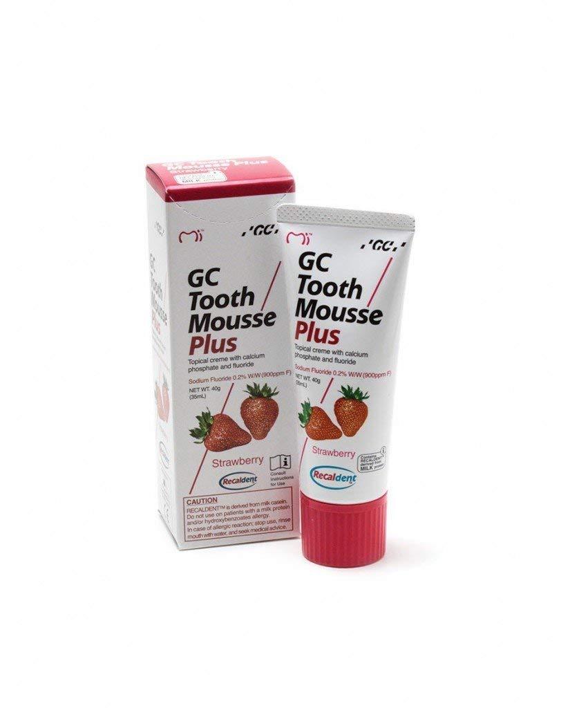 GC Recadent Tooth Mousse Plus Strawberry Flavor - 40 g