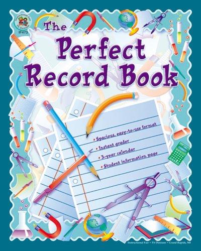 Carson Dellosa Instructional Fair The Perfect Record Book Record/Plan Book (074240028X)