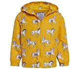 Holly & Beau Rain Jacket For Girls, Color Changing Rain Coat, Horse Rain Coat
