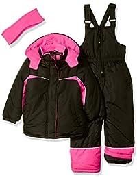 Girls' Colorblocked Snowsuit